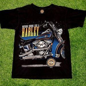 Vintage 1996 Harley Davidson 3D Print Tee